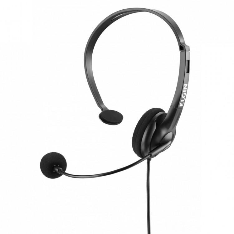 Fone Elgin Headphone Preto Mono/Sem Volume F02-1nsrj