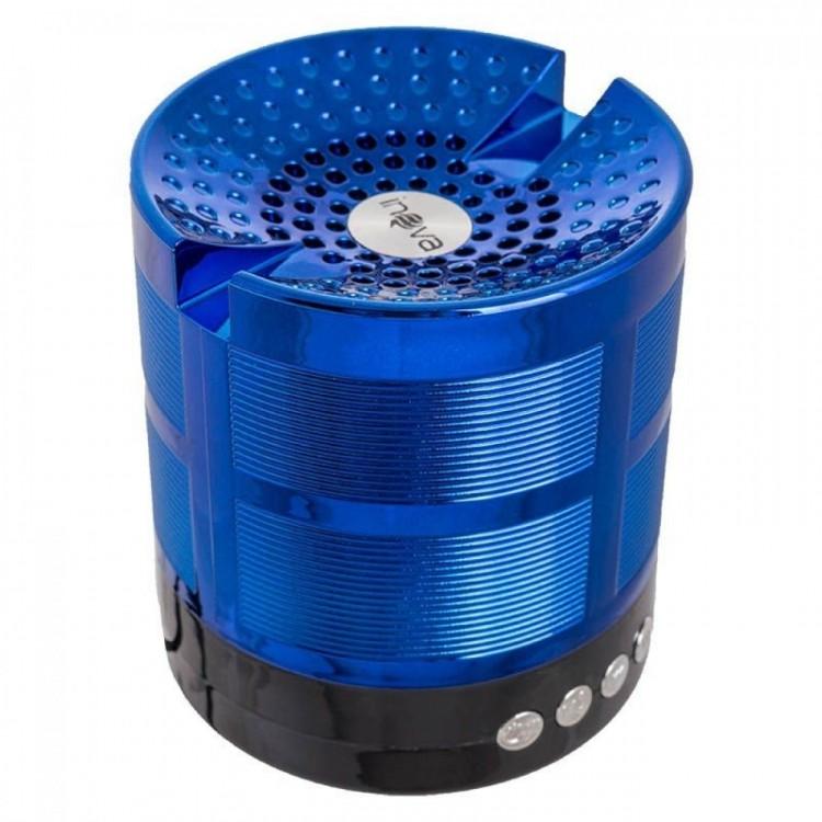 Caixa de Som PortÁtil Bluetooth Inova Azul Rad-377z
