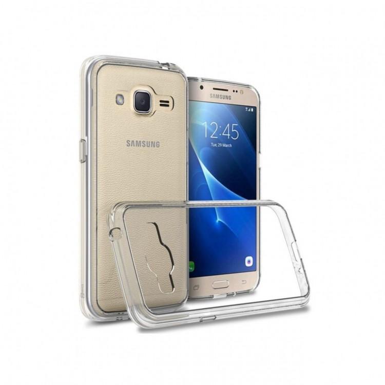 Capa Anti Impacto Silicone Samsung Galaxy J2 Transparente