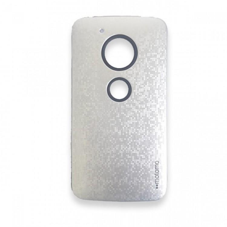 Capa Anti Impacto Motomo Motorola Moto G5 Prata