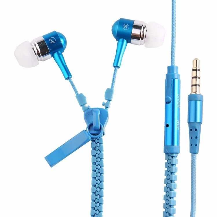 Fone de Ouvido Intra Auricular Ziper Mbtech Mb53094 Azul